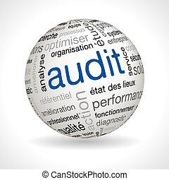 auditoría, esfera, francés, keywords
