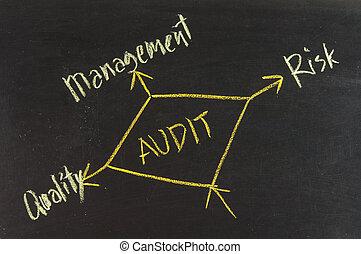 auditoria, executar, possível, outcomes