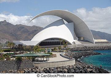 Auditorio in Santa Cruz de Tenerife, Canary Islands, Spain