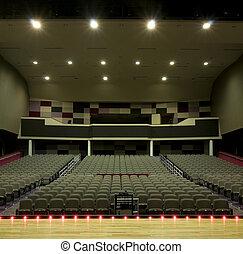 Auditorium at High School