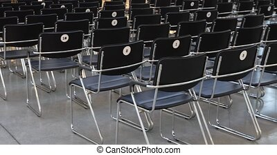 Auditorium for lectures with chairs - Auditorium for...