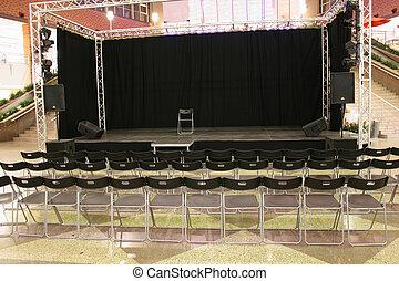 auditorium in market