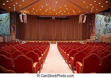 Auditorium in Temple of Christ of Savior