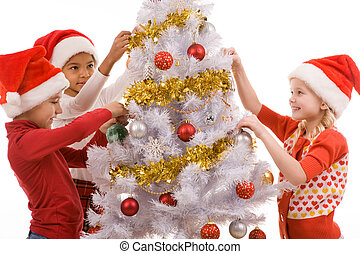 auf, weihnachtsabend