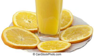 aufschließen, orangen