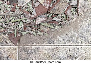 Fußboden Aus Ziegelsteinen ~ Ziegelsteine boden. ziegelsteine gesetzt herringbone form boden.