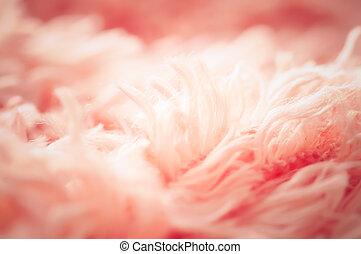 aufschließen, weich, rosa, watte, teppich, und, abstrakt, hintergrund