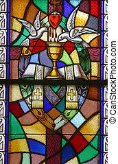 aufträge, sieben, heilig, sacraments