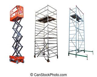 aufzug, scaffolds