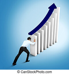 augmentation, marché, statistiques