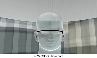 Augmented reality device.