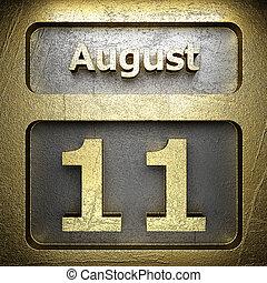 august 11 golden sign