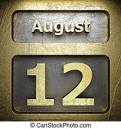 august 12 golden sign