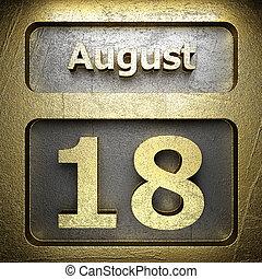 august 18 golden sign