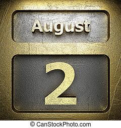 august 2 golden sign