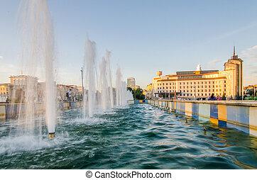 Kaban lake embankment. Kazan, Tatarstan - August, 2020, ...