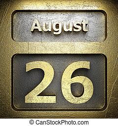 august 26 golden sign