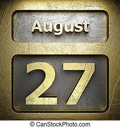 august 27 golden sign