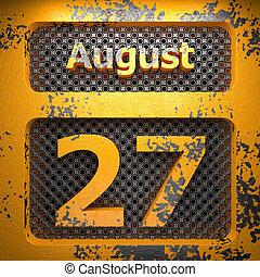 august 27 of painted steel