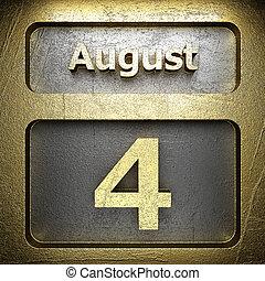 august 4 golden sign