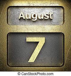 august 7 golden sign