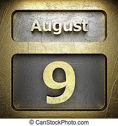 august 9 golden sign