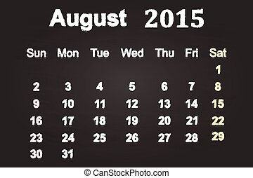 August Month 2015