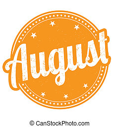 August stamp