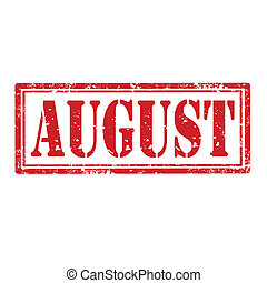 August-stamp