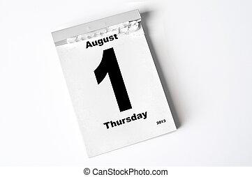 augusti, 2013, 1.