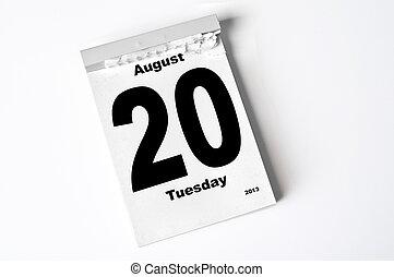 augusti, 2013, 20.