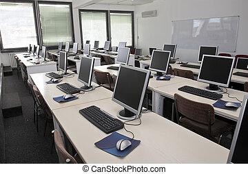 aula de ordenador