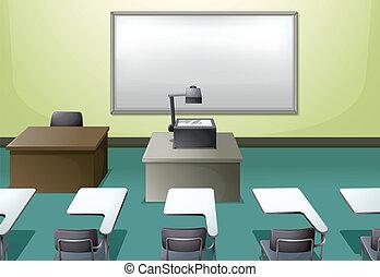 aula, università