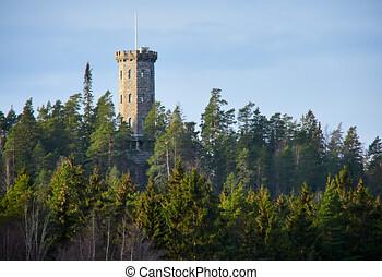 aulanko, torre vigia