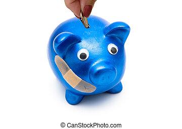 aumentar, asistencia médica, costes