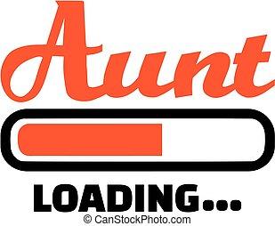 Aunt loading download bar