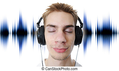 auriculares, escuchar