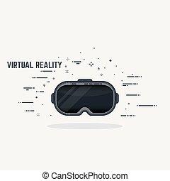 auriculares, realidad virtual