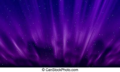 aurora abstract lights