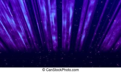 aurora, abstratos
