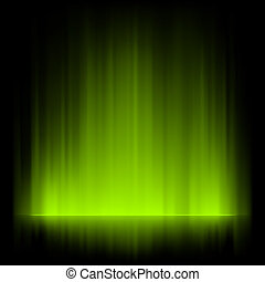 Aurora borealis background. EPS 8