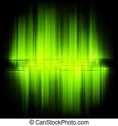 Aurora Borealis. Colorful abstract. EPS 10