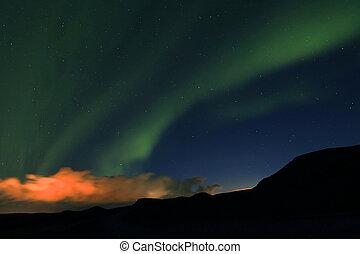 Aurora Borealis in Iceland, Europe