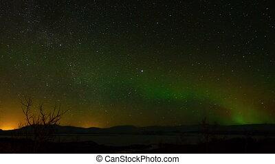 Aurora Borealis in Sweden.