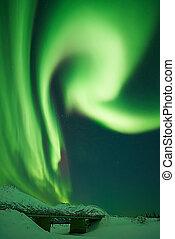Aurora Borealis Letter R