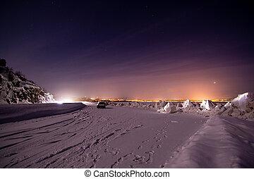 Aurora Borealis near Alta, Norway