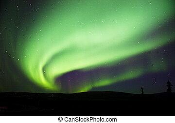 Aurora Borealis near