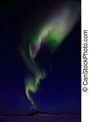 Aurora Borealis near Yellowknife NT