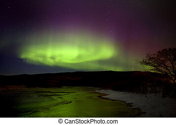 Aurora Borealis Northern Lights