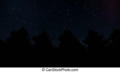 Aurora borealis Northern Lights Starry sky Nature blue sky Winter landscape